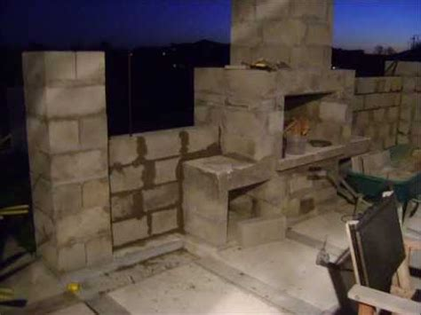outdoor fireplace cinder block plans home romantic
