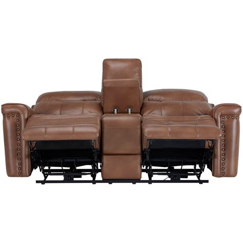 microfiber reclining loveseat with console city furniture wallace medium brown microfiber reclining
