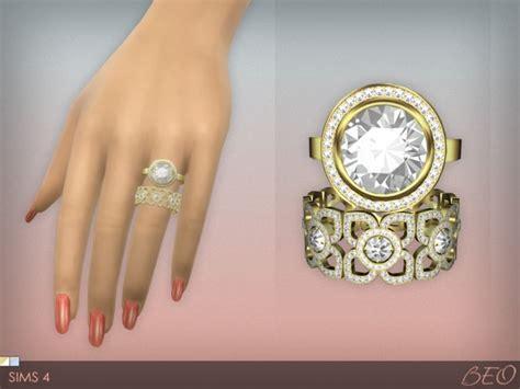 Big Lots Kitchen Furniture diamond rings set at beo creations 187 sims 4 updates