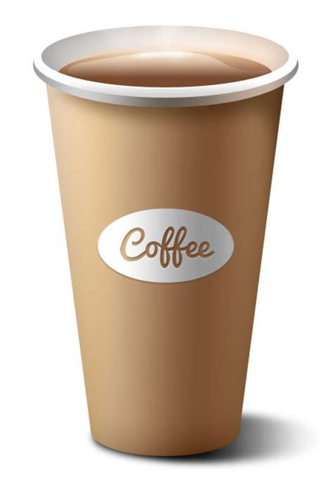How To Make A Paper Coffee Cup - realistic paper coffee cup psd