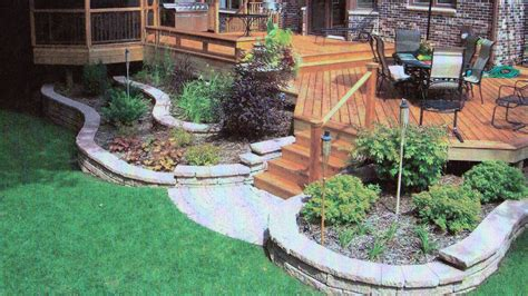 Landscaping Backyard by Backyard Landscape R E Marshall Nursery