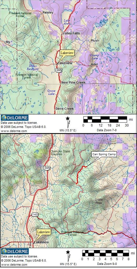 map of oregon rv parks oregon rv cing and cgrounds rv cing