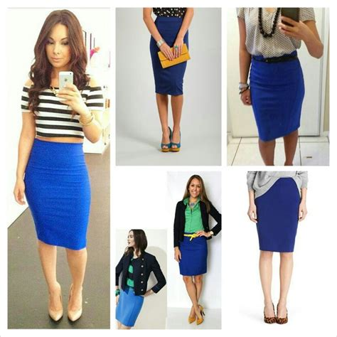 21 best images about royal blue skirt ensembles on