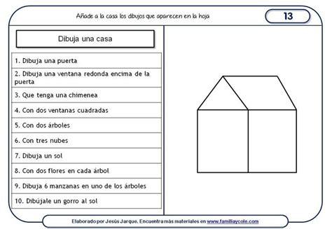 leer libro de texto sunset park gratis descargar fichas de comprensi 243 n de instrucciones escritas dibujo de una casa seguimiento de