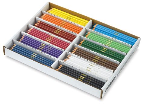 prang colored pencils prang colored pencils classroom master pack blick
