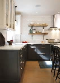Charcoal Gray Kitchen Cabinets Charcoal Gray Cabinets Vintage Kitchen House Amp Home