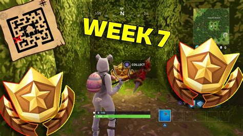 fortnite week 6 treasure map fortnite treasure map location retail row guide week 7