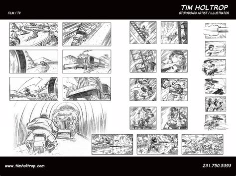 Architectural Layouts by Tim Holtrop Storyboard Artist Illustrator Film And