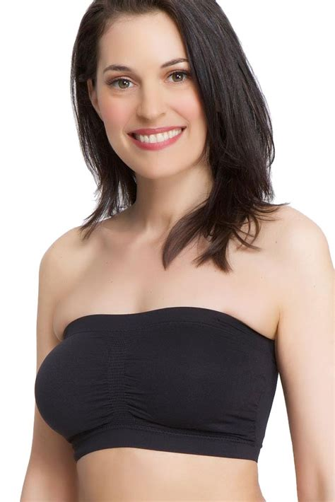 La Leche League Seamless Pullover Nursing Bra Black la leche league seamless strapless nursing bra in black by