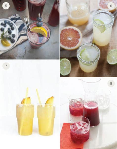 8 summer wedding signature cocktails julep