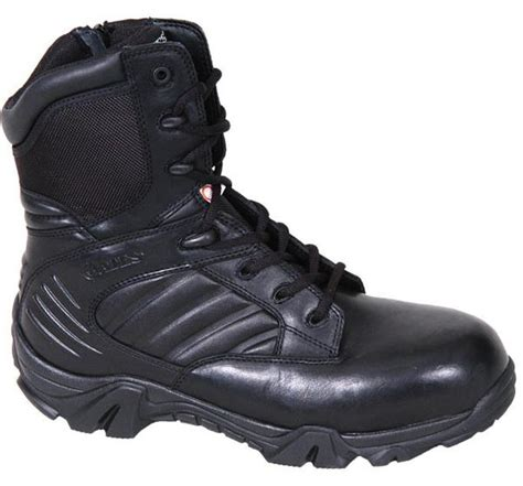 Sepatu Boot Safety Kickers Atambua Steel Toe bates e02274 gx 8 csa composite toe side zip boot safety boots