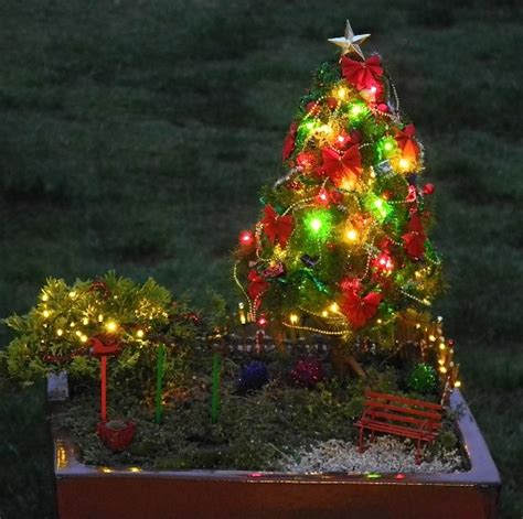 home and garden christmas decorations 45 miniature garden decorations ultimate home ideas