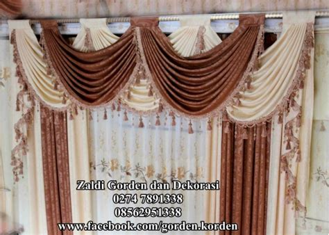 Gorden Gordyn Korden Tirai Blackout 100 Import Original 23 100 cara membuat model gorden untuk jendela rumah minimalis dan dapur beserta foto model