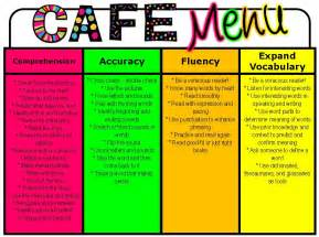 classroom freebies cafe posters and strategy cards