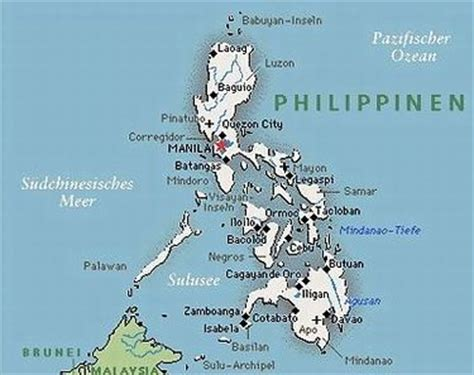 wo liegen die philippinen chronik philippinen