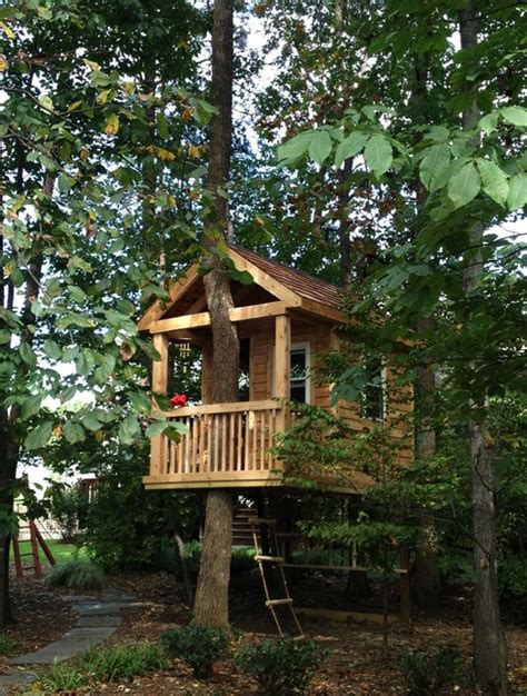 backyard treehouse for kids tree house traditional kids other metro by bianco renovations
