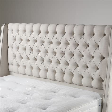 Tufted Wingback Headboard Cordelia Tufted Buttoned Wingback Headboard