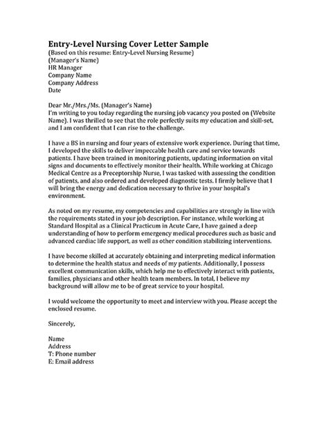 nursing cover letter format learn how to write a nursing cover letter inside we