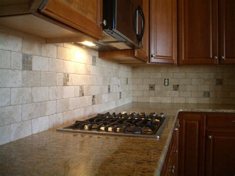 kitchen backsplash travertine kitchen tile