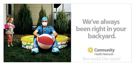 right in your own backyard hospital caign we ve always been right in your own