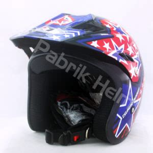 Helm Cross Hitam helm jpn cross pc18 motif hitam pabrikhelm jual helm murah