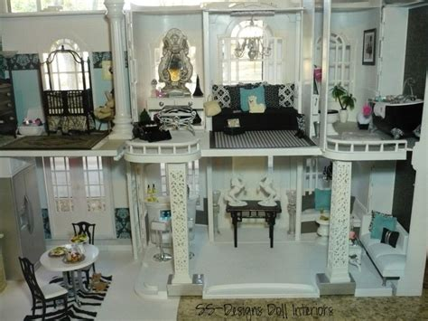 Amazing Blogs On Miniature Dollhouses by Stalking For Blue Ribbons
