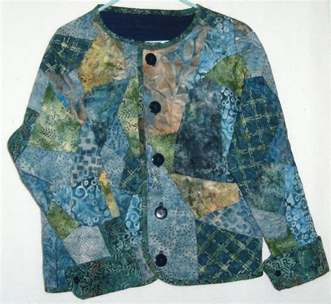 Quilted Sweatshirt Jacket by Patch Sweatshirt Jacket