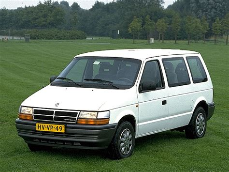 Chrysler Se by Chrysler Voyager 2 5i Se 1994 Parts Specs
