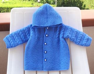 free knitting pattern for baby hooded jacket ravelry hooded baby coat pattern by filomena lanzara