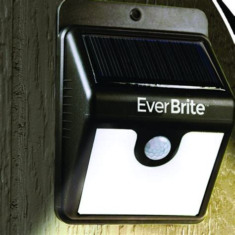 motion activated solar light buy brite motion activated led solar light black in