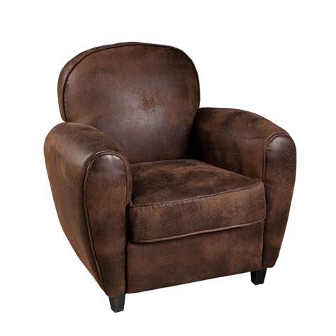 fauteuil prix fauteuil club microfibre marron meubles macabane meubles et objets de d 233 coration