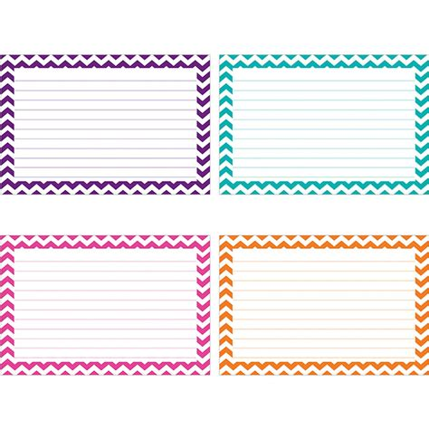 8 5 x 5 5 fancy card border polka dot templates border index cards 3x5 lined 75ct chevron top3550 top