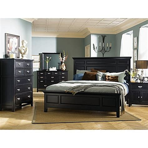 klaussner bedroom furniture klaussner ashton 6 piece bedroom set bed bath beyond