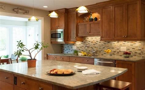 Houzz Kitchen Lighting Ideas warm and cozy kitchen with open plan living room