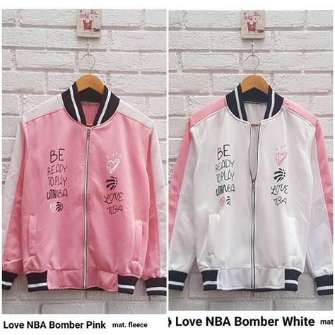 Murah Jaket Bomber Line jaket bomber wanita nba bomber grosir baju muslim pakaian wanita dan busana murah