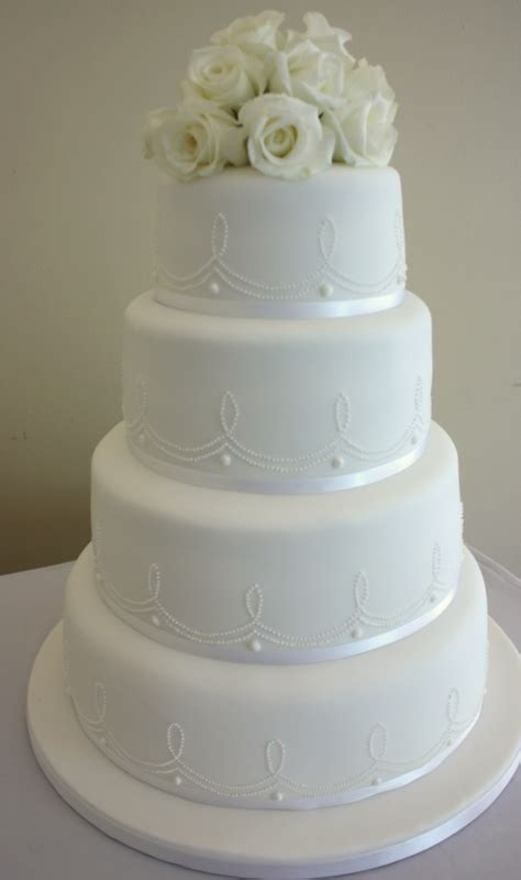 New Four Tier Wedding Cake Wedding 187 Vanilla Bean Cake Company