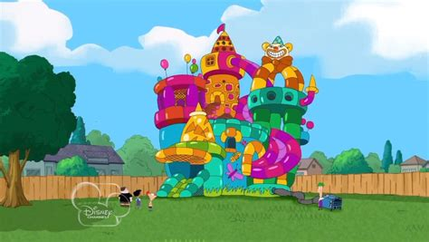 bounce house phineas and ferb wiki your guide to