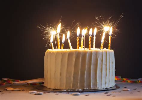 Cake Candle are sparklers safe on cakes