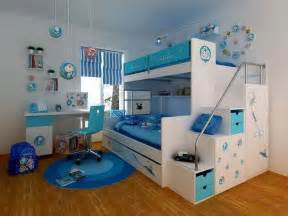 Cool Kids Bedrooms Nice Blue White Cool Room Ideas For Kids Your Dream Home