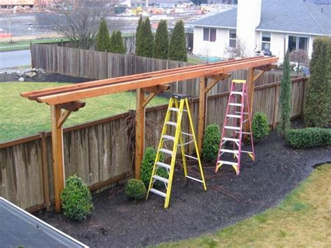 Backyard Arbor Ideas 17 Best Images About Fence Gate Trellis Patio On Pinterest Decks Grape Vine Trellis And Fencing