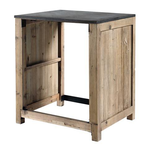 meuble de cuisine ind駱endant meuble de cuisine en pin recycl 233 pour lave vaisselle l 68