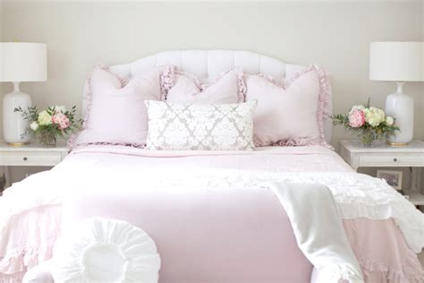 pink peonies bedroom the guest room pink peonies by rach parcell bloglovin