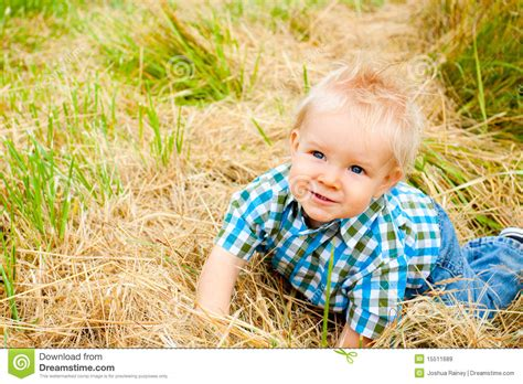 hair gel for a 1yr old 1 year old boy stock image image of smile blue crazy