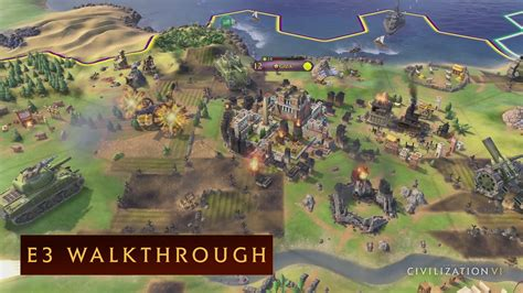 Sid Meiers Civilization Vi Pc civilization vi e3 2016 walkthrough