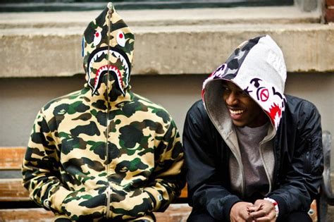 Topi Bape Ape Baby Blue Hat Premium the best bape hoodies how to wear them the idle