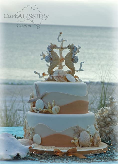 Theme Wedding Cakes by Sea Theme Wedding Cake Cakecentral