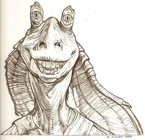jar jar binks tattoo best 25 wars jar jar ideas on jarjar
