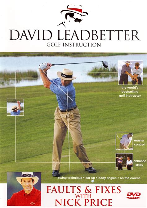 golf swing faults and fixes david leadbetter golf instruction faults and fixes with