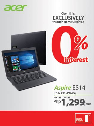 Laptop Acer Es14 acer aspire es14 at 0 interest home credit