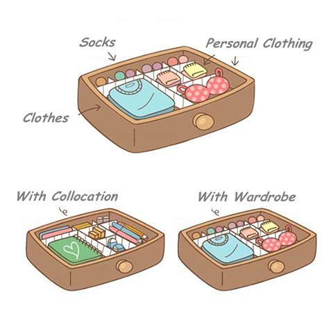 armadietto fai da te armadietto divisore cassetto assicella organizzatore di